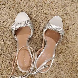 Silver Sexy Heel